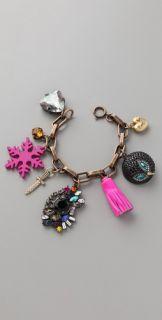 Juicy Couture Snowflake Charm Bracelet