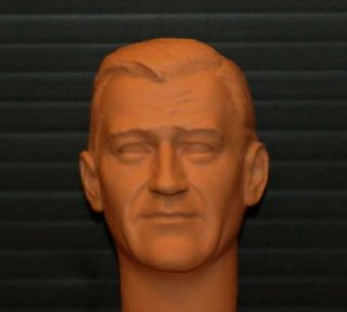 12  Action Figure 1 6 Scale Custom John Wayne Head