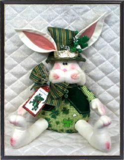 Primitive St Patricks Day Bunny ♣♣ Pattern 67