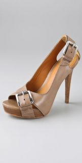 KORS Michael Kors Portland Open Toe Pumps