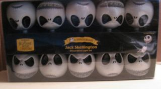 Nightmare Before Christmas Jack Skellington Light Set