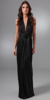 Halston Heritage Halter Long Dress