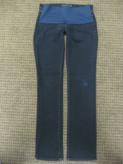 Brand Maternity Jeans Stretch Bootcut Jeans Dark Blue Size 28 Small