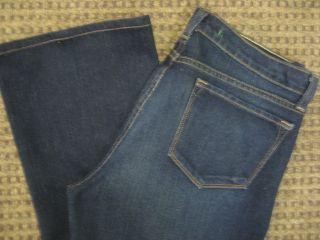 Brand Maternity Jeans Stretch Bootcut Dark Blue Jeans Size 30 Medium