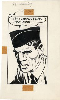 Jack Kirby Skymasters Original Panel Comic Art
