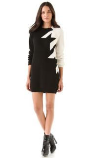 3.1 Phillip Lim Fading Houndstooth Dress