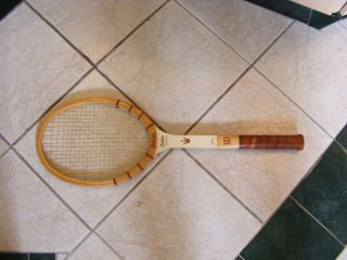 Vintage Wood Wilson Jack Kramer Tennis Racket Racquet Used condition