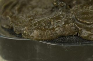 100% Real Bronze Matador Cape Bull Mexican Bullfight Spanish Marble