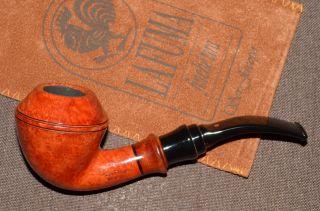 Ser Jacopo Cymatium La Fuma Bent Rhodesian Pipe Pfeife UNSMOKED