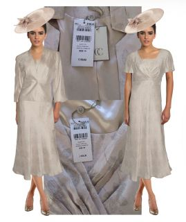 New CC Champayne Mother of Bride Dress Suit Special Occasion Suit Save