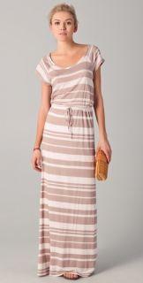Splendid Maritime Stripe Maxi Dress