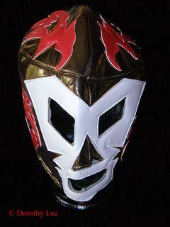 Lucha Libre Wrestling Halloween Mask Dr Wagner Gold