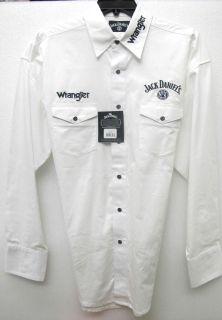 Wrangler® Western Shirt Long Sleeve Jack Daniels