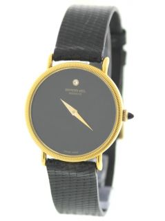 Raymond Weil Geneve 18K Yellow Gold Electroplated Manual Winding