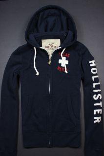 NEW Hollister by Abercrombie mens Jack Creek Sweatshirt Hoodie NWT L