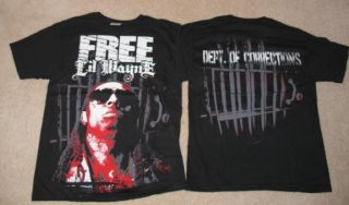 Lil Wayne Prison Cell Shirt New Rap Hip Hop