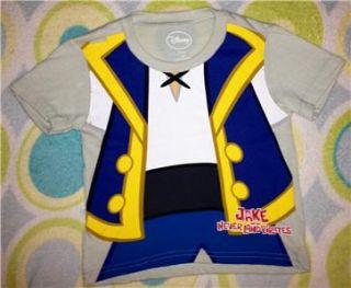 NWT   Toddler Boys * Jake and Neverland Pirates * Costume T Shirt, Sz