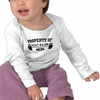 Property Of 400 Club XXL Infant Long Sleeve Tee