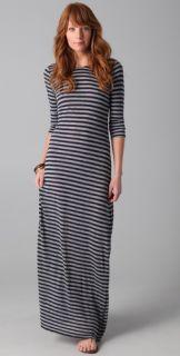 Velvet Yuelle Striped Maxi Dress