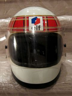Jackie Stewart Indy 500 Driver F1 Champion Elf Bell Race Helmet