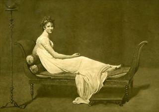 old title madame recamier artist jacques louis david year printed
