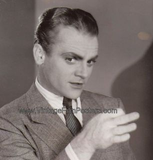 James Cagney Orig 1933 Portrait Still Hard to Handle
