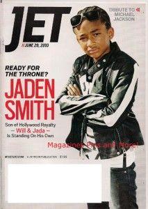 Jet Magazine Jaden Smith Tribute Michael Jackson Mint