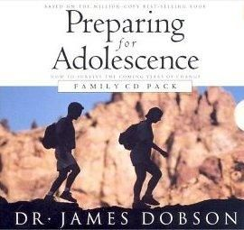 Book Audiobook CD Dobson Preparing for Adolescence