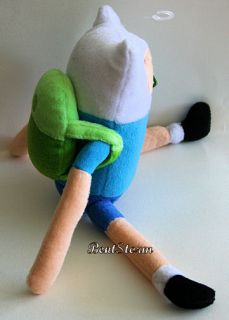 Adventure Time with Finn and Jake The Adventurous Plush Boy Dog Toy