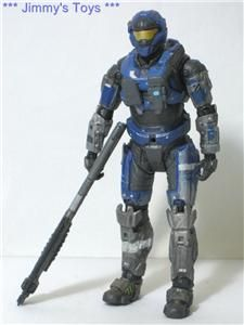 H78 McFarlane Toys Halo Reach Noble 1 One Carter Action Figure