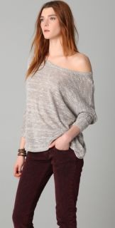 Daftbird Off the Shoulder Sweater