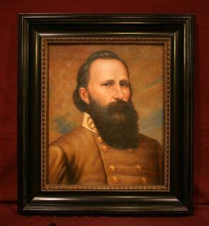 Confederate General James Longstreet Oil Painting