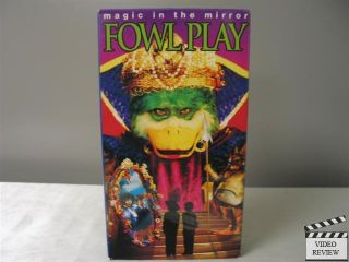 Fowl Play Magic in The Mirror VHS Jaime Renee Smith Kevin Wixted