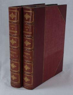 James Boswell Life of Samuel Johnson 1925 Fine Bindings