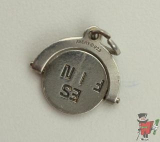 James Avery Sterling Best Friend Swivel Charm 11 16