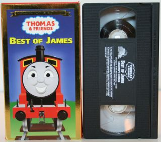 Thomas and Friends Best of James VHS Movie Video Tape Tank Engine