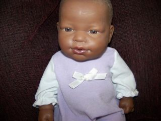 14 Berenguer African American Baby Toddler Classic Doll All Vinyl w