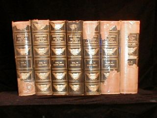 Book Set Messages Papers of The Presidents 7 Vol 1910