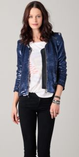 IRO Dylan Sequined Jacket