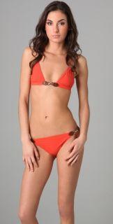 Michael Kors Collection Linked Triangle Bikini