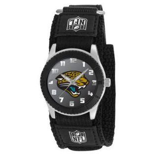 Jacksonville Jaguars NFL Football Wrist Watch Velcro Strap Wristwatch
