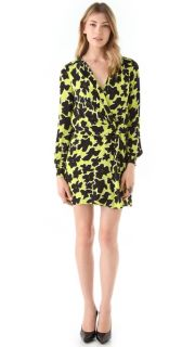 Diane von Furstenberg Dora Print Wrap Dress