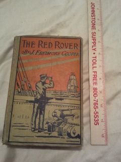 Red Rover James Fenimore Cooper Hardcover 1918