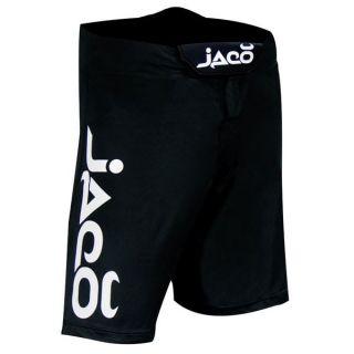 Jaco Clothing MMA UFC Resurgence Fight Black Board Shorts Sz 32 M