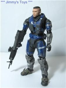 Toys Halo Reach Series 5 Carter Without Helmet Action Figure