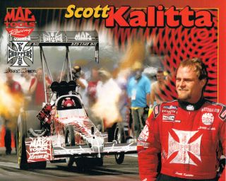 Scott Kalitta Mac Tools West Coast Choppers Jesse James Handout