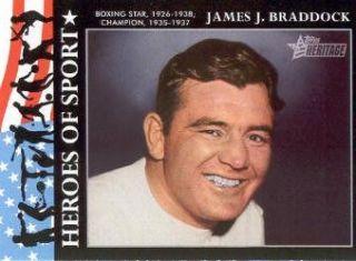 American Heritage Heroes Ed. Heroes of Sport #HS3 James J. Braddock
