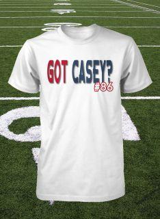 Houston Texans Shirt James Casey Jersey Texans T Shirt NFL Football