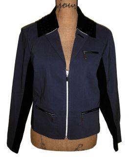Jamie Sadock Long Sleeve Moody Blues Golf Jacket Sz Medium