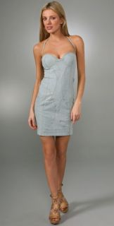 Rosa Cha Runway Chambray Dress